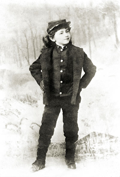 Cecil de Mille as a child