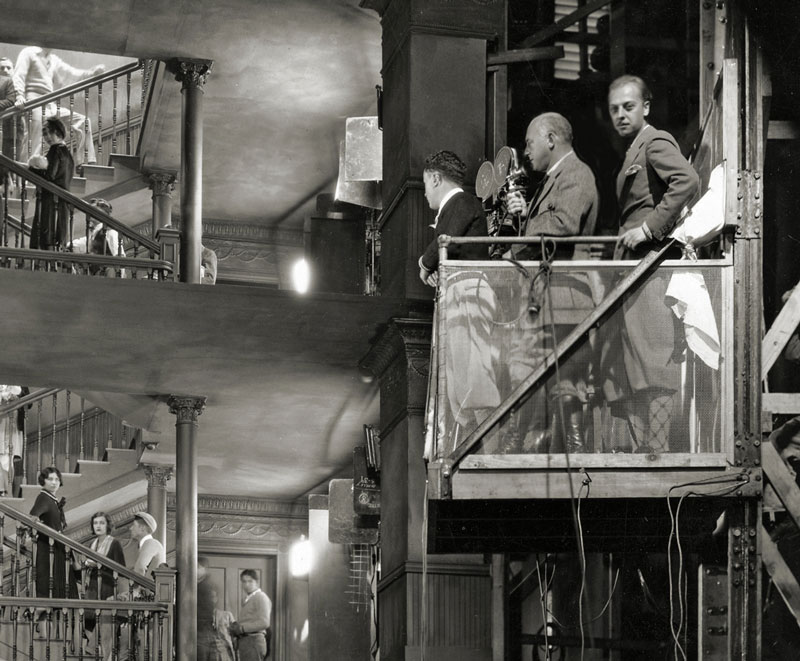 DeMille used an elevator to achieve a crane-like shot in The Godless Girl (1928)